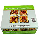 Product Of Goodnessknows, Apple Almond Peanut Bar , Count 12 (1.2 oz ) - Healthy Snacks / Grab Varieties & Flavors