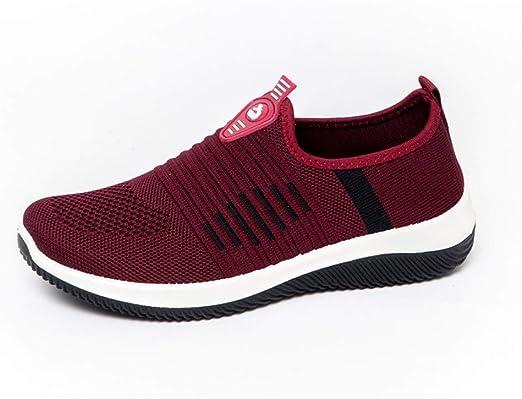 Willsky Zapatillas De Running para Mujer, Zapatillas De Deporte ...