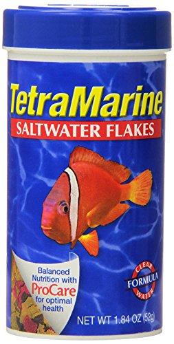Tetra 16212 Tetra Marine Saltwater Flakes, 1.84-Ounce, 250 ()