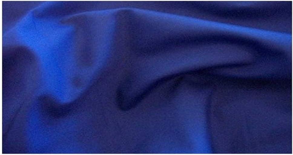 Tela de polialgodón lisa, por metros, color azul real: Amazon.es ...