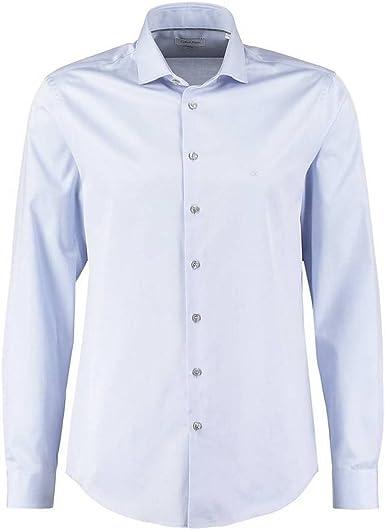 Calvin Klein - Camisa casual - para hombre azul celeste 43 ...