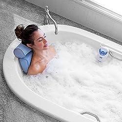 Bodyhealt Home Spa Jacuzzi Bath Set, Gentle Massage Jet with Spa Pillow