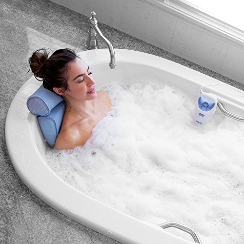 Bodyhealt Home Spa Jacuzzi Bath Set, Gentle Massage Jet with Spa Pillow by BodyHealt