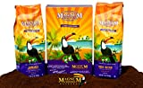 magnum coffee - Magnum Coffee Taste of the Exotics Ground Coffee, Jamaican Blend, Kona Blend, 24 Ounces Boxed Bundled Set (Two 12 ounce Bags)
