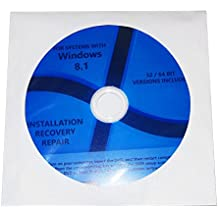 Windows 8.1 All Version Home Pro etc Windows 8 Reinstall Repair System Recovery CD Restore OS Install DVD