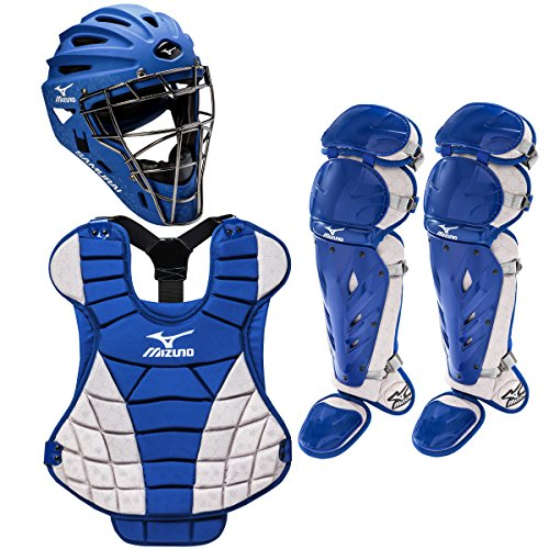 Mizuno Samurai Intermediate Women's Fastpitch Softball Catcher's Set (Mizuno Catcher Set)
