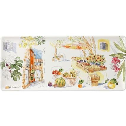 Gien - Bandeja para tarta 36 x 15,5 cm Provence 1774 cpca01 - loza ...