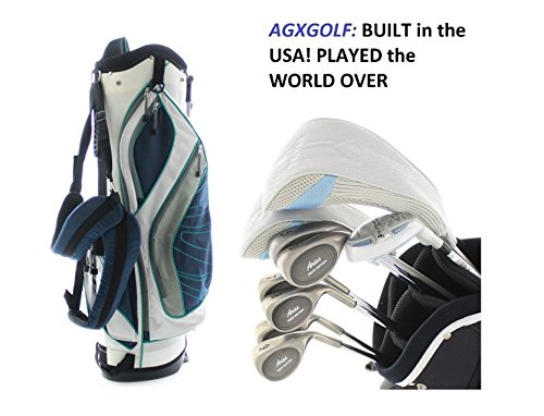 AGXGOLF Ladies Petite Right Hand Golf Club Set w/460 Dr+3Wd+