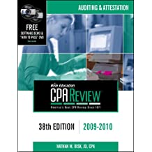 Bisk CPA Review: Auditing & Attestation - 38th Edition 2009-2010 (Comprehensive CPA Exam Review Auditing & Attestation)