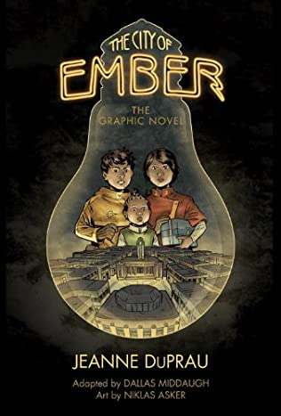book cover of The City of Ember: The Graphic Novel
