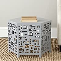 Safavieh American Homes Collection Kelby Pearl Blue Grey End Table