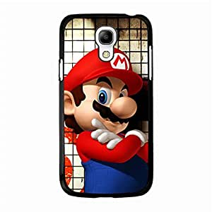Cover Shell Cartoon Super Mario Phone Case for Samsung Galaxy S4 Mini Creative Original Super Mario Comics Pattern Back Cover