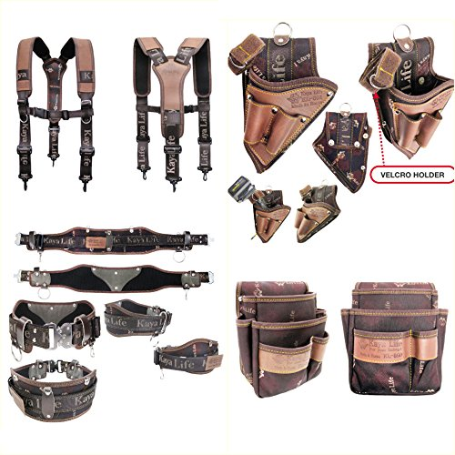 Professional Work Tool Belt Suspenders Multi holders Set KL Series Korea Made by Kaya (Image #5)