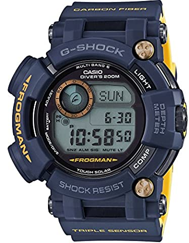 CASIO G-SHOCK MASTER OF G FROGMAN NAVY BLUE GWF-D1000NV-2JF MENS JAPAN IMPORT (Gshock Watches Master Of G)