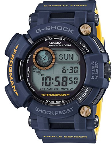 CASIO G-SHOCK MASTER OF G FROGMAN NAVY BLUE GWF-D1000NV-2JF MENS JAPAN IMPORT