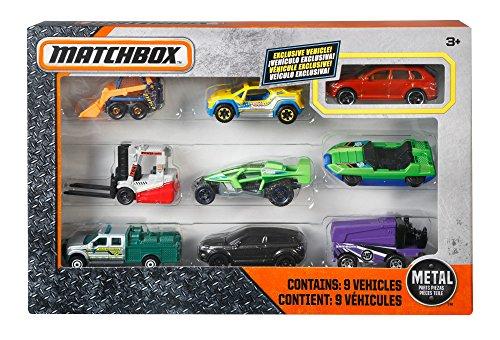Review Matchbox 9-Car Gift Pack