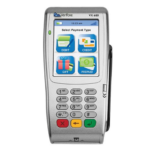 VeriFone Vx 680 3.0 Direct Wireless 3G GPRS 192Mb SCR/Contactless by Verifone