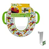 Sesame Street 'Scuba' Soft Potty Seat with Toilet Tank Potty Hook