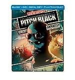 Pitch Black (Steelbook) (Blu-ray + DVD + Digital Copy + UltraViolet) by Universal Studios