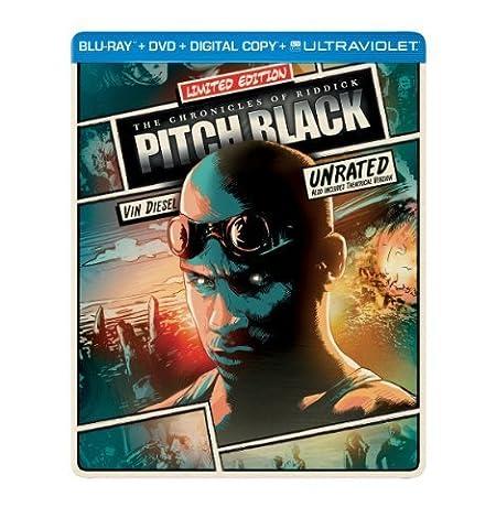 Pitch Black (Steelbook) (Blu-ray + DVD + Digital Copy + UltraViolet) by Universal Studios (Universal Studios Steelbook)