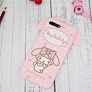 5593a3bb53 Amazon.com  Fitted Cases - Cute Cartoon 3D My Melody Little Twin ...