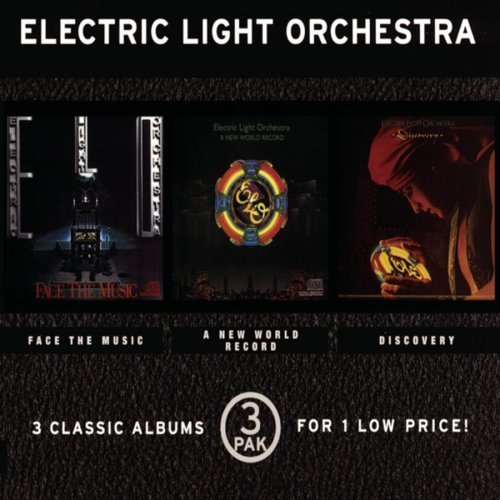 3 Pak: Face the Music / New World / Discovery by Elo