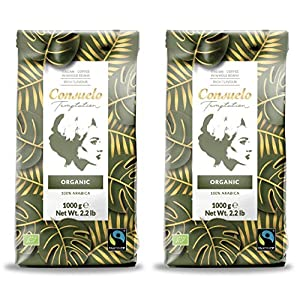 Caffè Consuelo in grani interi, biologico Fairtrade, 2 x 1 kg