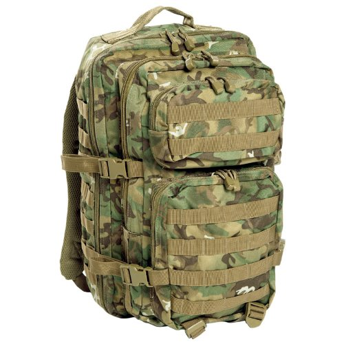 Army Patrol Rucksack Assault Backpack Combat MOLLE Pack Hiking 36l Arid...