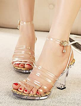 Ei   iLI Zapatos Mujer – Sandalias – Planeta y el Día vestir – Zapato 03b9b086a7a4