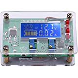 Yeeco DC 5A Adjustable Buck Step Down Converter 6V-32V to 1.5-32V LCD Volt Transformer Tester Gauge Multimeter Constant Voltage Board Regulator Current Monitor Power Supply Module with USB Interface