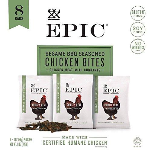 Epic Sesame BBQ Seasoned Chicken Bites 1 oz. (8 pk.)