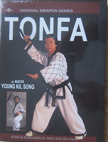 TONFA by Master Young Kil Song, Star of the Nunchaku and Tang Soo Do DVDs,  Original Weapon Series