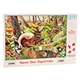 1000 Piece Jigsaw Puzzle - Save Our Squirrels NEW JULY 2015 by The House of Puzzles