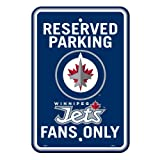 Freemont Die ILIN8 80246 Winnipeg Jets Parking Sign