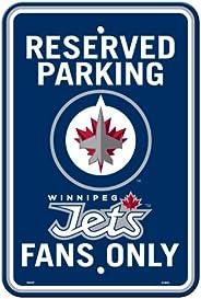 Freemont Die ILIN8 80246 Winnipeg Jets Parking Sign