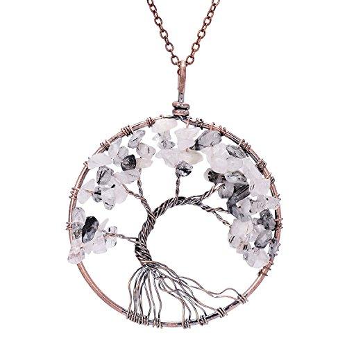 Sedmart pendant Amethyst Necklace Gemstone