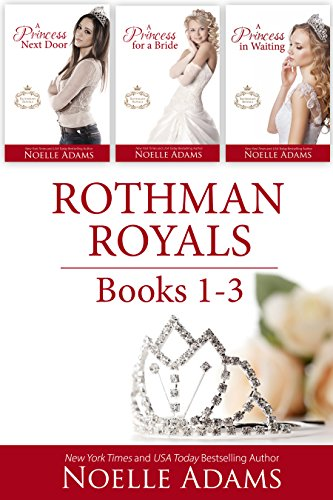 Enjoy three sweet and steamy romances in the Rothman Royals series, but be forewarned… you may find the man of your dreams.Rothman Royals: Books 1-3 by Noelle Adams
