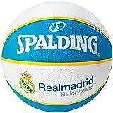 Spalding Real Madrid (77-615Z) Minicanasta, Unisex, Negro, Talla ...