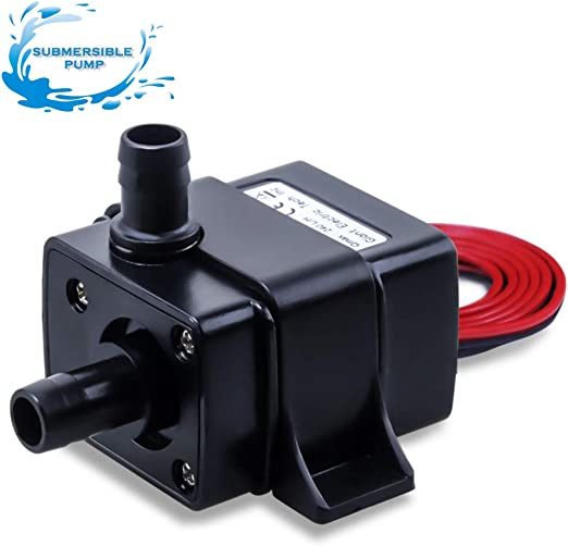 Submersible Fountain Tank Water Pump Small Dc12V 400mA Temperature Resistant