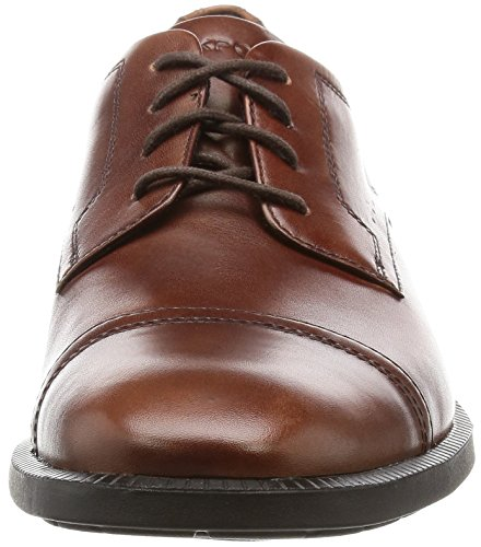 Rockport Dressports Modern Captoe, Scarpe Oxford Uomo, Brown (New Brown Leather), 40 EU
