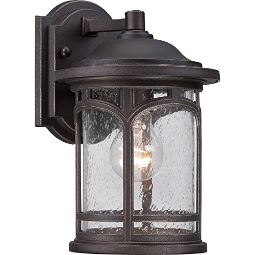- Quoizel MBH8407PN Marblehead Outdoor Wall Sconce, 1-Light, 100 Watts, Palladian Bronze (11