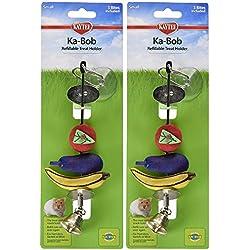 Kaytee Ka-Bob Treat Dispensing Small Animal Toy (2 Pack)