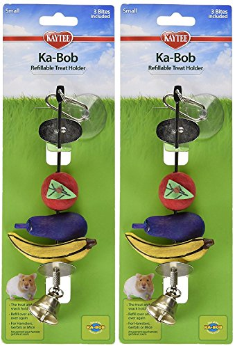 Kaytee Ka-Bob Treat Dispensing Small Animal Toy (2 Pack)