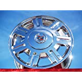 Cadillac Deville: Set of 4 genuine factory 16inch chrome wheels