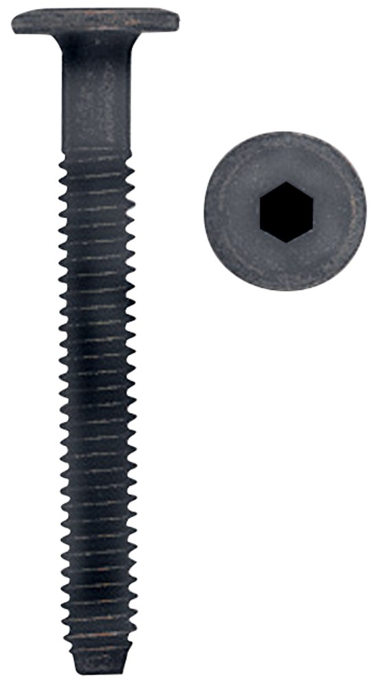 Platte River 812564, 100-pack, Fasteners, Knock Down (kd), 70mm Small Head Connector Bolt Bronze