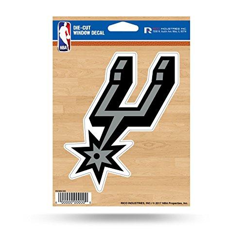 NBA Spurs San Antonio Medium Die Cut Decal Sports Fan Home Decor, Multicolor, One Size (Spurs Antonio San Die)