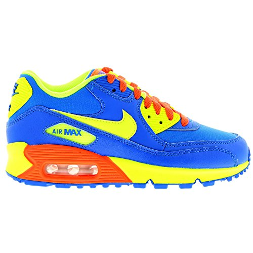 Boy's Nike 'Air Max Classic' Running Shoe Blue/ Volt/ Hyper