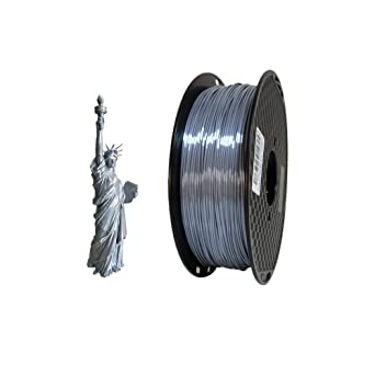 Filamento para impresora 3D PLA de 1,75 mm de seda, 1 kg (2.2 ...
