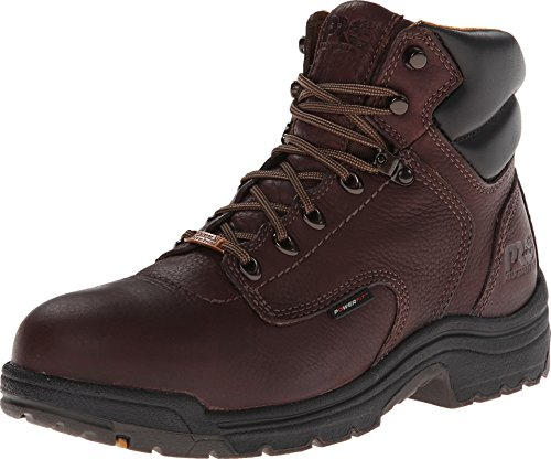"Timberland PRO Men's 26078 Titan 6"" Waterproof Safety-Toe Work Boot,Dark Mocha,10.5 M"