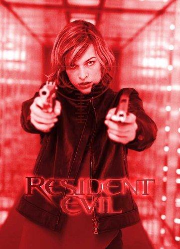 27 x 40 Resident Evil Movie Poster
